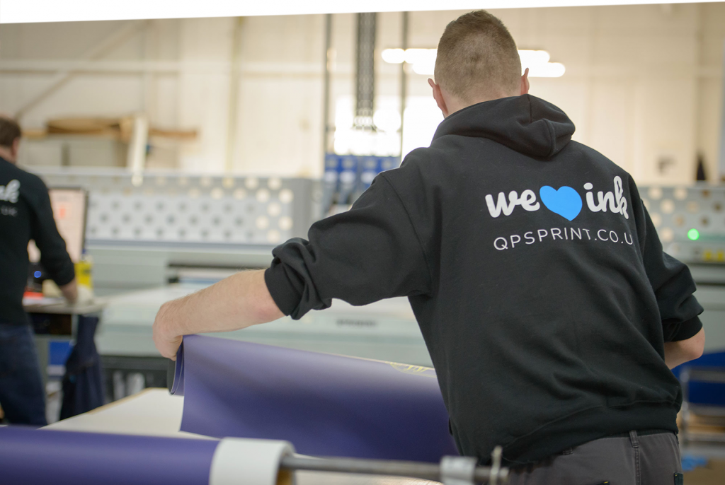 Image showing workers at QPS Print Stoke-on-Trent used in a blog post about managed print services and why you should be dealing directly with your print company