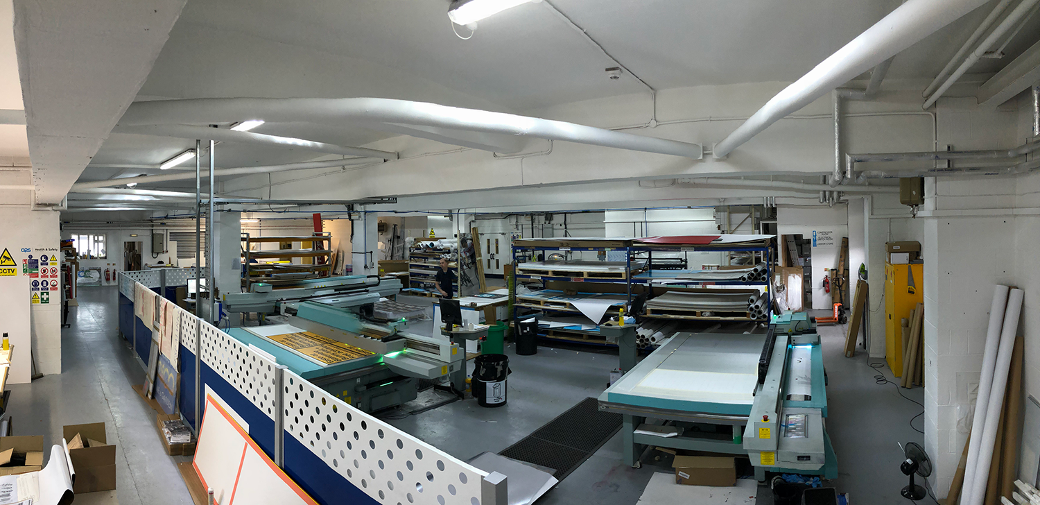 Image showing QPS Print in Stoke on Trent Staffordshire. Full production and print facilities with a design studio and account managers to help create your brand's vision.
