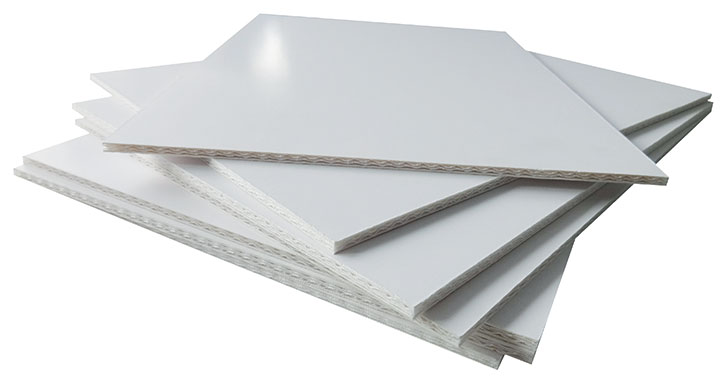 Image showing a Dispa board and its paper core used in a blog post by QPS Print