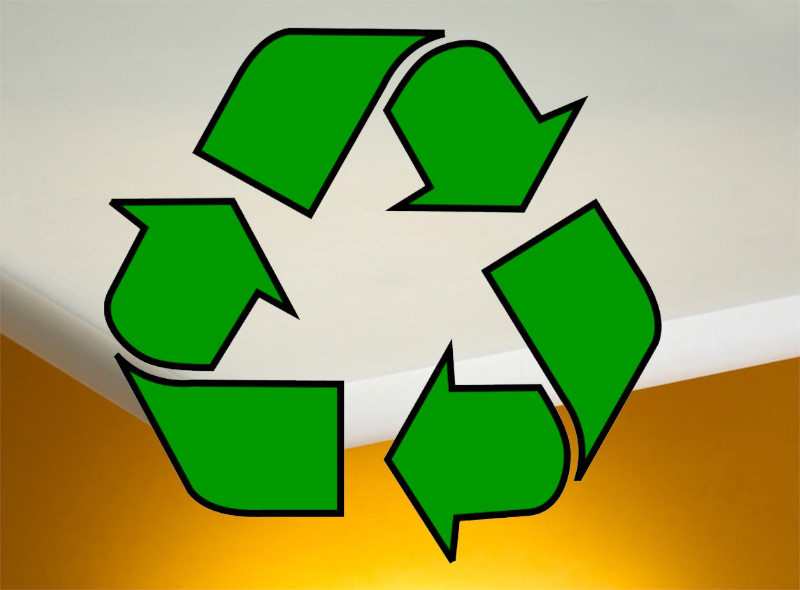 Image showing a eco-friendly signage substrate used in a blog post about environmentally friendly signage materials by QPS Print